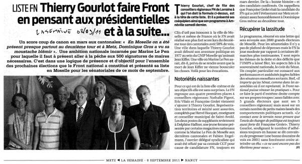 OK Article La Semaine Liste FN Sénatoriales 08092011.jpg